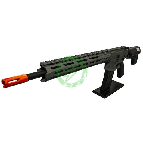 Krytac Full Metal Trident MKII-M SPR Rifle | Foliage Green | MLOK  Left Profile