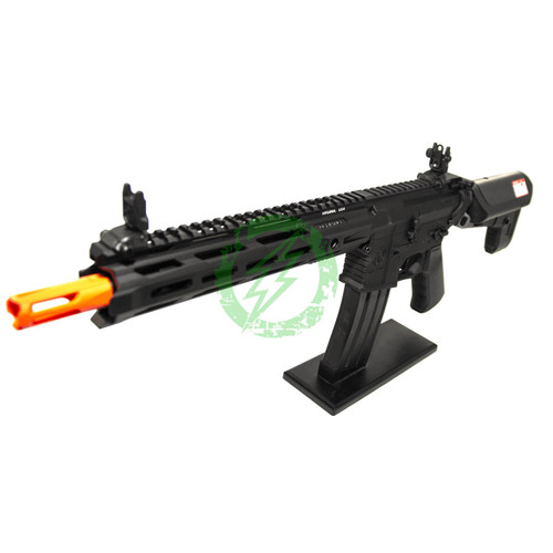 Amped Custom HPA Rifle Krytac MKII-M CRB | Black Left Profile