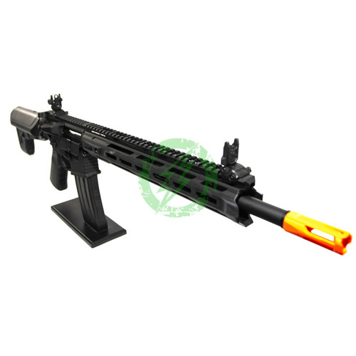 Amped Custom HPA Rifle Krytac MKII-M SPR | Black Right Profile