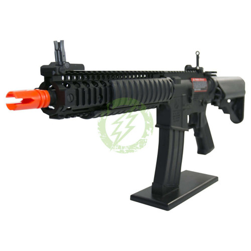 Amped Custom HPA Rifle VFC COLT MK18 | Black Left Profile