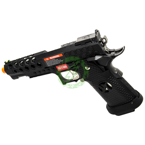 AW Custom | HX25 Full Metal Competition Ready GBBPistol | Black left