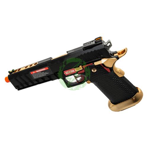 AW Custom | Competitor Hi-Capa GBB Pistol | Black left