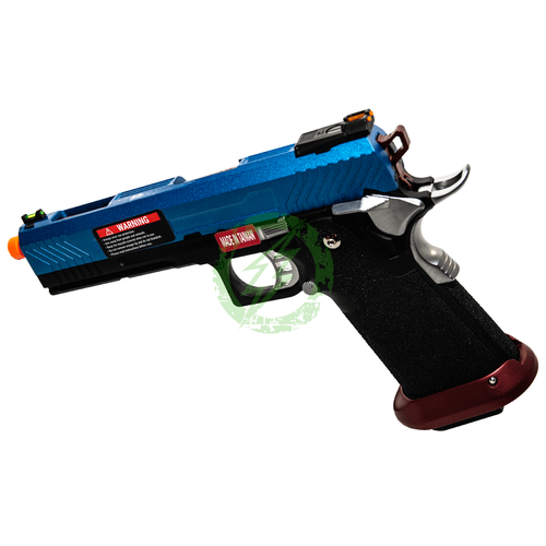 AW Custom | Hi-Capa Competition GBB Pistol | Blue Patriot left