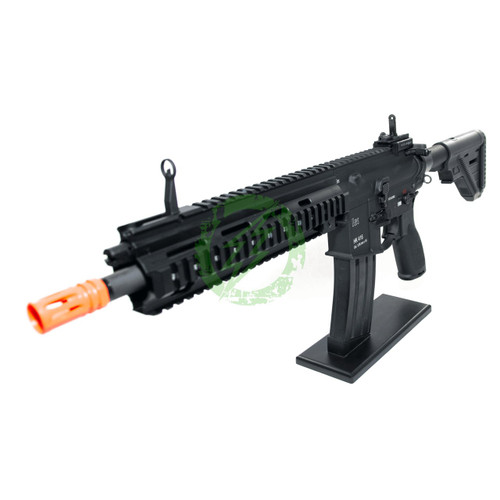 Amped Custom HPA Rifle Elite Force H&K 416A5 | Black Left Profile