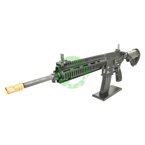 Amped Custom HPA Rifle Elite Force H&K M27 IAR | Black Left Profile