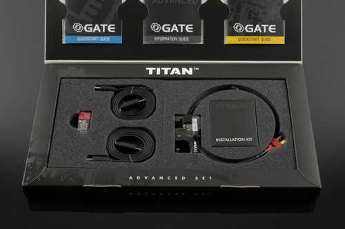 GATE TITAN V2 Advanced Module | Front Wired | Airsoft MOSFET for AEG In Box
