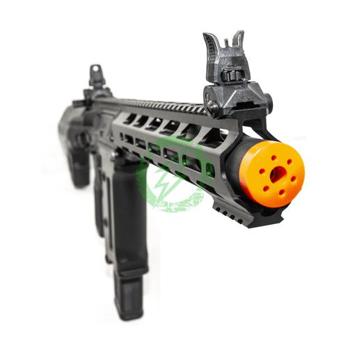 "KWA Ronin ""Tekken"" TK.45 Electric Airsoft Gun | AEG 3.0 | Black barrel right"