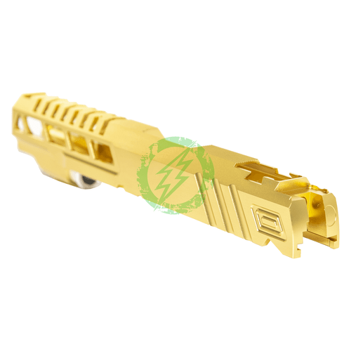 Airsoft Masterpiece Custom | Gold Speed Standard Slide for TM Hi-Capa back