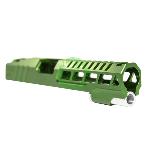 Airsoft Masterpiece Custom | Green Speed Standard Slide for TM Hi-Capa