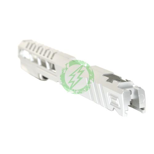Airsoft Masterpiece Custom | Silver Speed Standard Slide for TM Hi-Capa