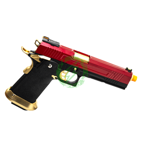 AW Custom | Split Frame Hi-Capa Competition GBB Red/Gold right