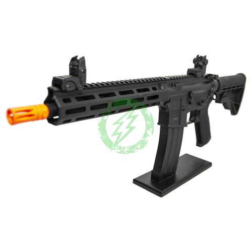 Tippmann M4 CQB V2 Airsoft Gun | MLOK | Black barrel left