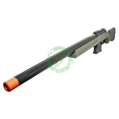 Umarex - Elite Force - Amoeba AS-01 Striker Rifle | GEN2 | Olive Drab barrel left