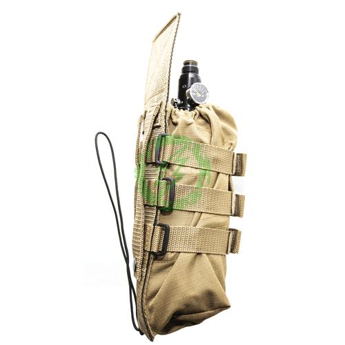 Valken | Paintball Universal Tan Tank Vest Pouch side