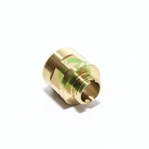 COWCOW Technology | Gold A01 Stainless Steel Silencer Adapter threads