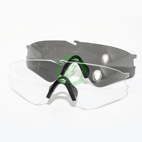 Oakley | SI Ballistic Terrain Tan Frame M Frame Alpha Operator Kit lenses
