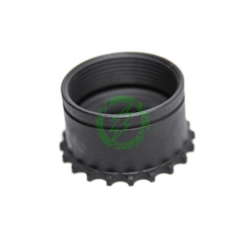 Leapers UTG Standard AR15 Steel Barrel Nut top