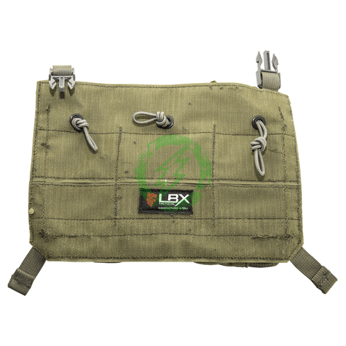 LBX Tactical Ranger Green Low Pro Mag Utility Fast Clip Panel back