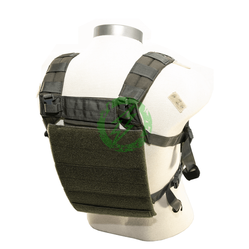 LBX Tactical Ranger Green Black Assault Chest Rig | S/M back