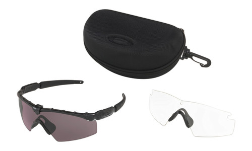 97e262e115361 Oakley SI Ballistic M Frame 2.0 Black Array with Clear and PRIZM Grey Lens