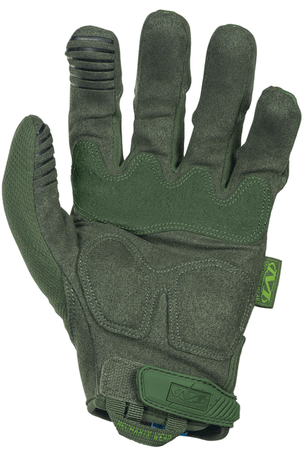 Mechanix Wear Medium OD Green M-Pact Gloves palm
