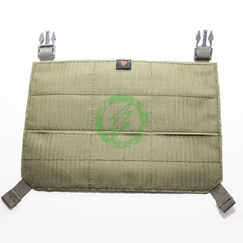 LBX Tactical Ranger Green Modular Panel with Clips back
