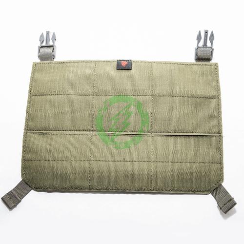 LBX Tactical Ranger Green Modular Panel with Clips back