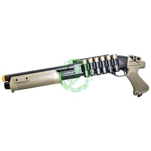 Umarex Tactical Force Black and Tan Tri Shot Shotgun left