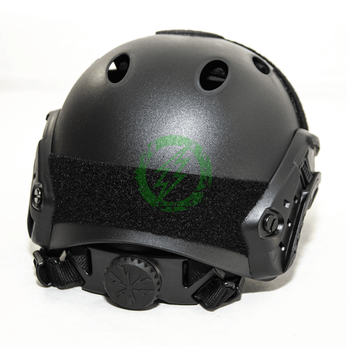 Emerson Black Bump Type Tactical Airsoft Helmet | PJ Type back