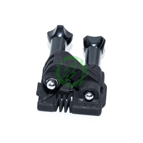 Brain Exploder Adjustable GoPro 3D Printed NVG Mount side