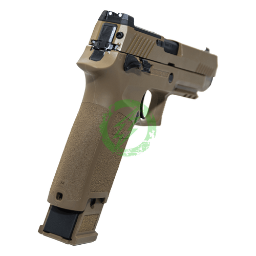 SIG Airsoft Coyote Tan PROFORCE M17 CO2 back