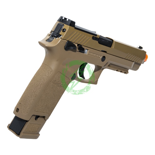 SIG Airsoft Coyote Tan PROFORCE M17 Green Gas back