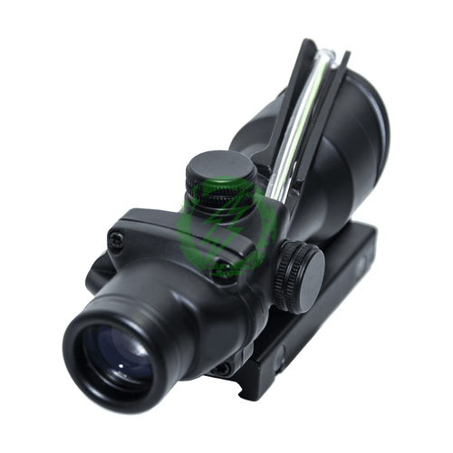 Matrix 4x32 Magnification Green Fiber Optic Illuminated Rifle Scope back