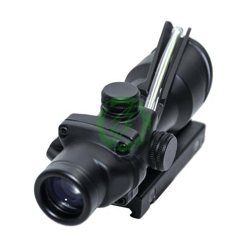 Matrix 4x32 Magnification Green Fiber Optic Illuminated Rifle Scope back