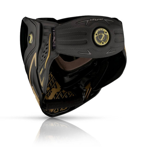 Dye i5 ONYX GOLD 2.0 Thermal Mask | Black / Gold b