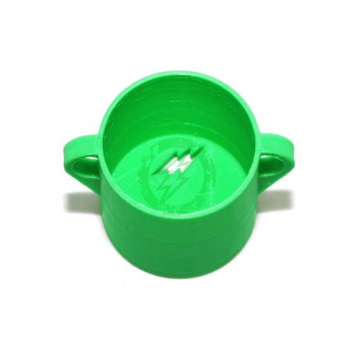 Amped Custom SFR Tournament Lock   Green Bottom