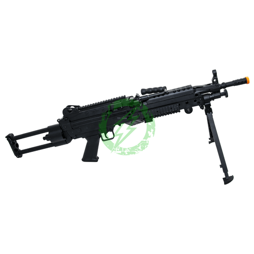 Cybergun FN Licensed M249 Para Featherweight right