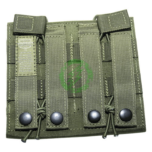 Valken Multi Rifle Double Mag Pouch LC olive back
