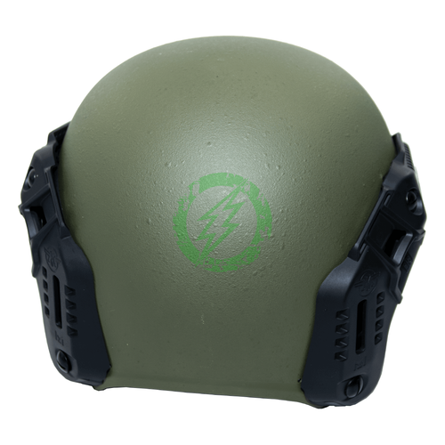 PTS MTEK Flux Helmet | OD Green back