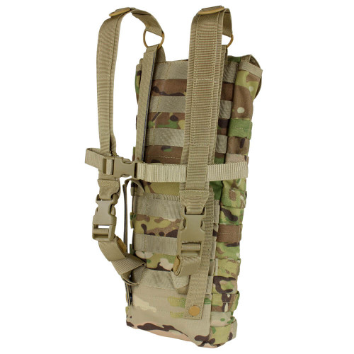 Condor Multicam Hydration Carrier with Bladder  back