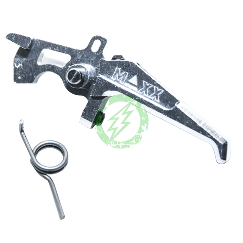 MAXX CNC Style E Aluminum Advanced Speed Trigger silver