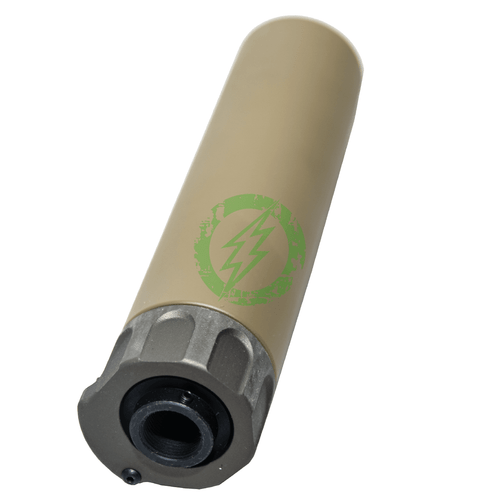 GK Tactical SOCOM556 RC2 Suppressor with Flash Hider | 14mm CCW | Tan back