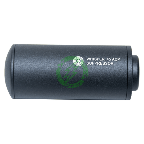 Madbull Airsoft Whisper .45ACP Barrel Extension | Black side