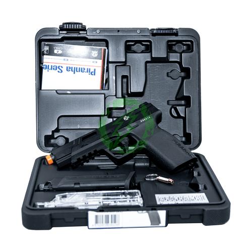 G&G Piranha MK1 GBB Pistol | Black case