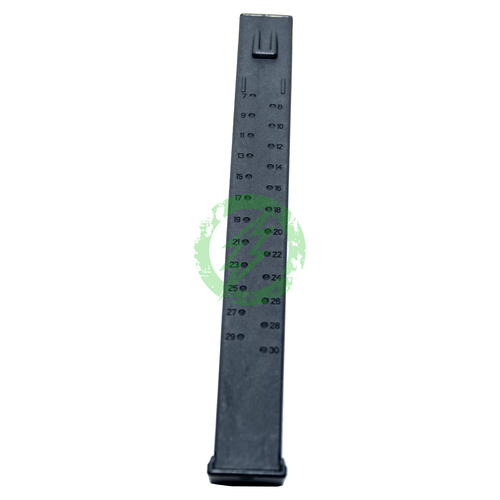 Classic Army X-9 120rd Mid Cap Magazine | Black ammo count