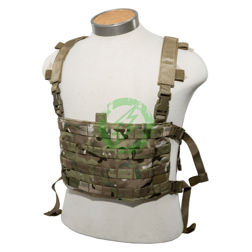 Lancer Tactical QD Chest Rig Light Weight Backpack multicam