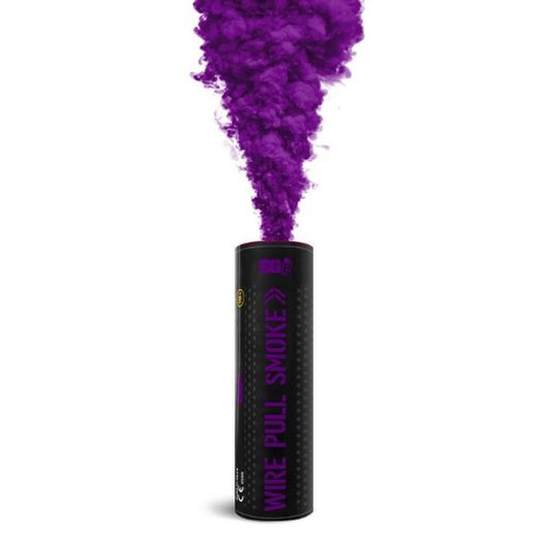 Pyro Shipped Easy Wire Pull Smoke Grenade purple