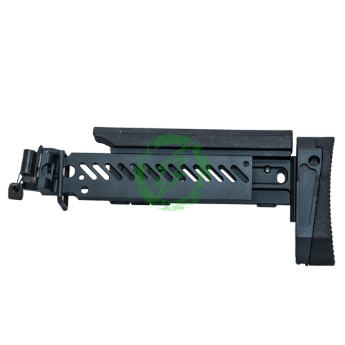 LCT Z-Series PT-1 AK Classic Foldable Buttstock | Black side