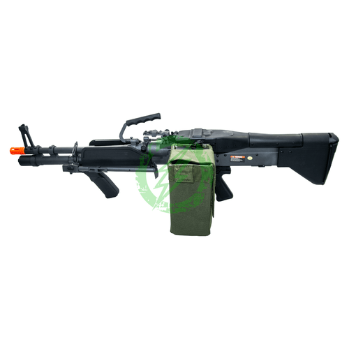 A&K M60 Airsoft AEG Machine Gun MK43 | M60E4 left