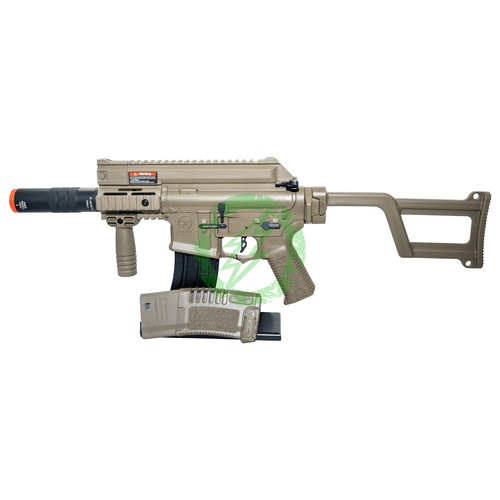 Umarex AMOEBA AM-005 SMG GEN5 Dark Earth left